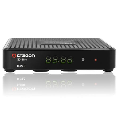 Recepteur satellite OCTAGON SX88+ H.265 HD