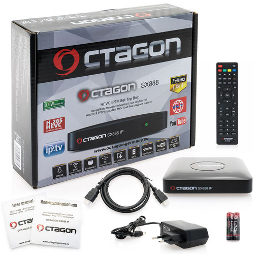 OCTAGON SX888 IP IPTV